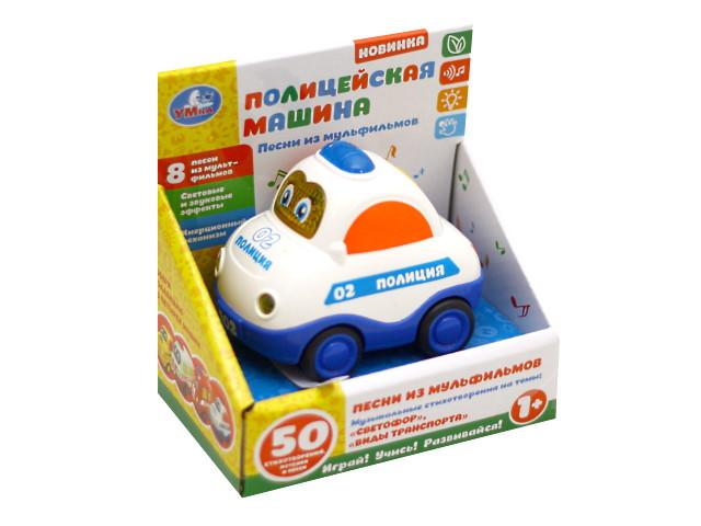 Машинка Полиция музыкальная Умка 1505A441-R3