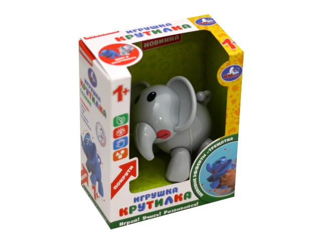 Погремушка Слон серый Умка S125-R2