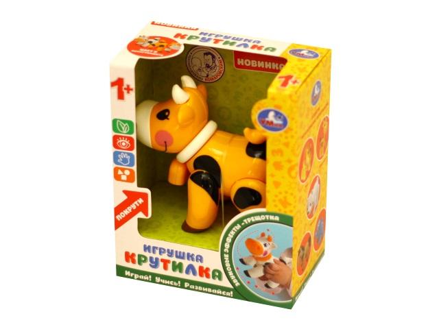 Погремушка Корова оранжевая Умка S126-R1