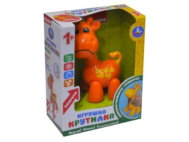 Погремушка Жираф оранжевый Умка S129-R1