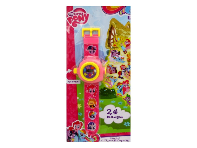 Часы наручные с проекцией My Little Pony Умка B1266129-R