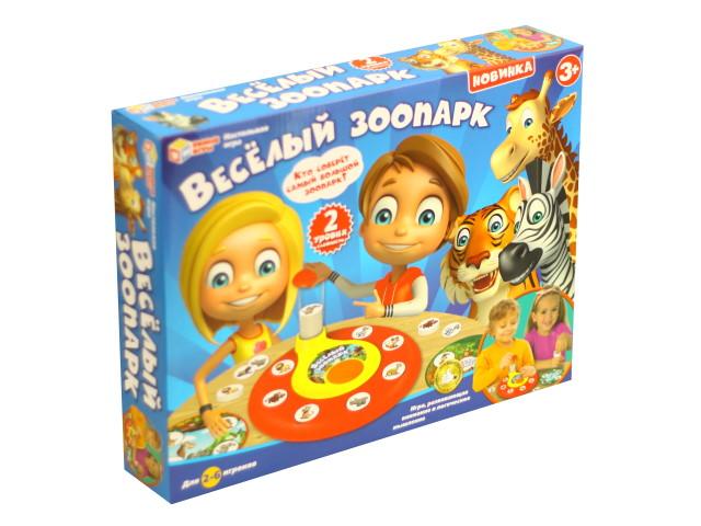 Настольная игра Веселый зоопарк Умные игры B1273385-R