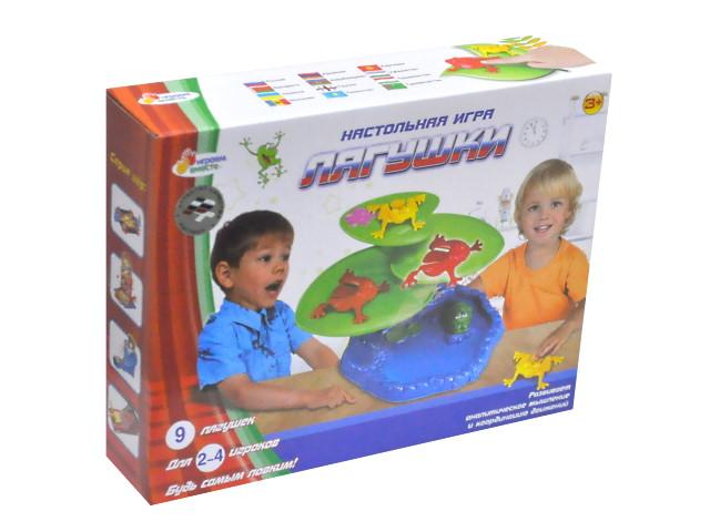 Настольная игра Лягушки Играем вместе B1352775-R