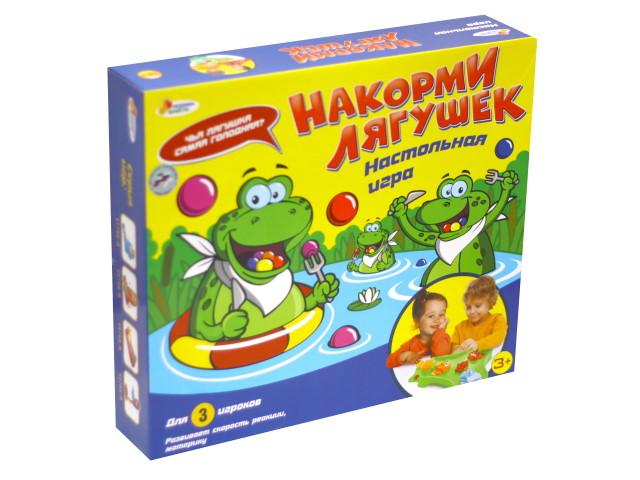 Настольная игра Накорми лягушек Играем вместе B1612605-R