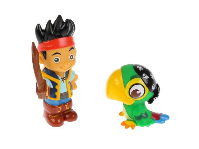 Игрушка для купания 2 шт. Джейк и Скалли Disney 181R-PVC