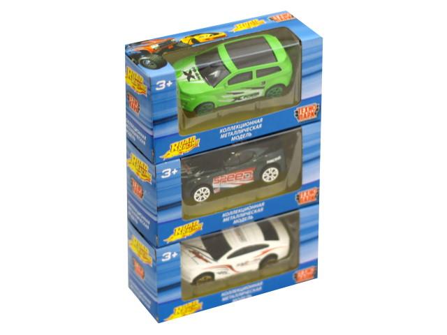 Машина металл Технопарк Road Racing  7см ассорти DS814-R