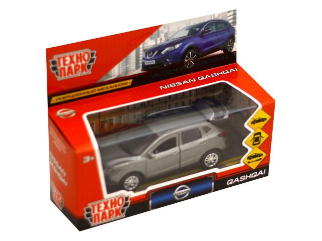 Машина металл Технопарк Nissan Qashqai 12см серая QASHQAI-GY