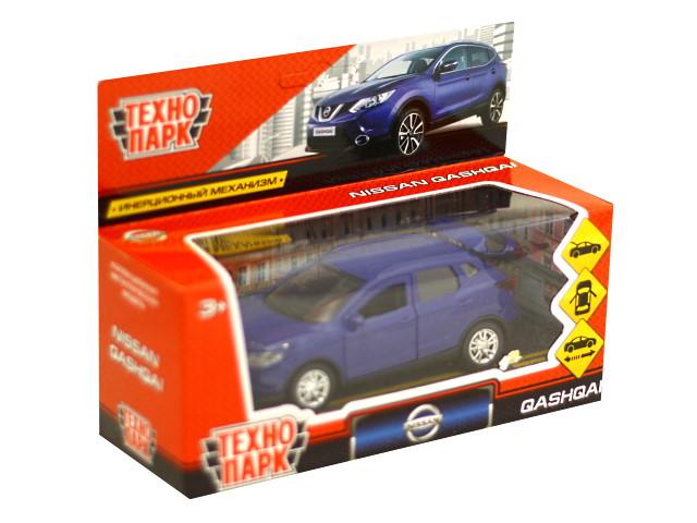 Машина металл Nissan Qashqai 12см синяя Технопарк QASHQAI-BU