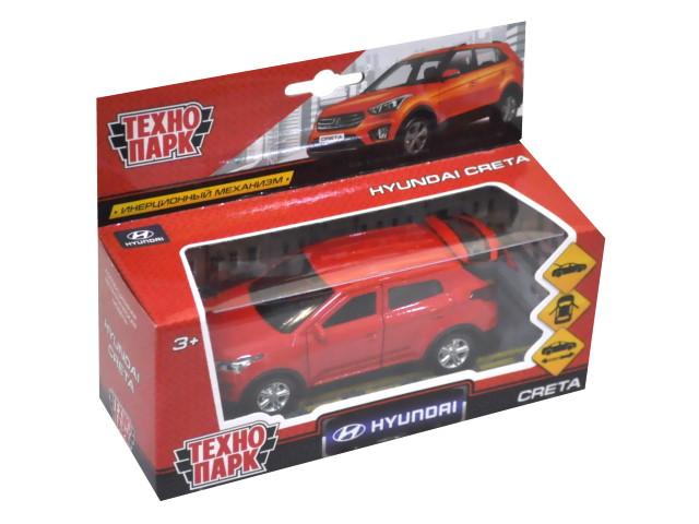 Машина металл Технопарк Hyundai Creta 12см красная CRETA-RD