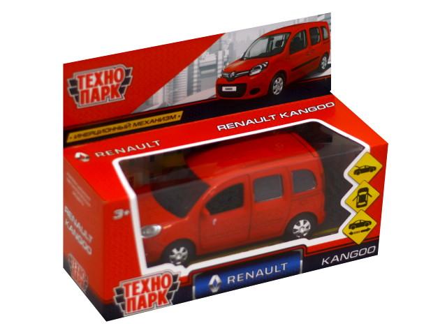 Машина металл Технопарк Renault Kangoo 12см красная KANGOO-RD
