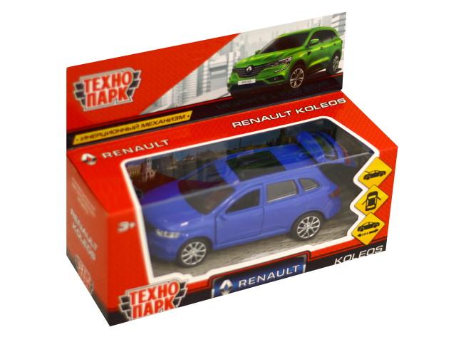 Машина металл Технопарк Renault Koleos 12см синяя KOLEOS-BU