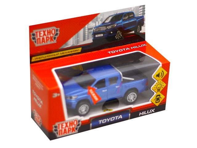 Машина металл Технопарк Toyota Hilux 12см FY6118-SL