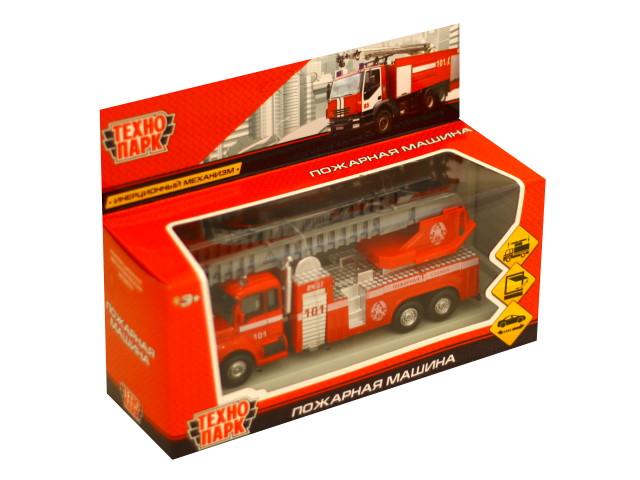 Машина металл Технопарк Пожарная 15.5см 251A1-R
