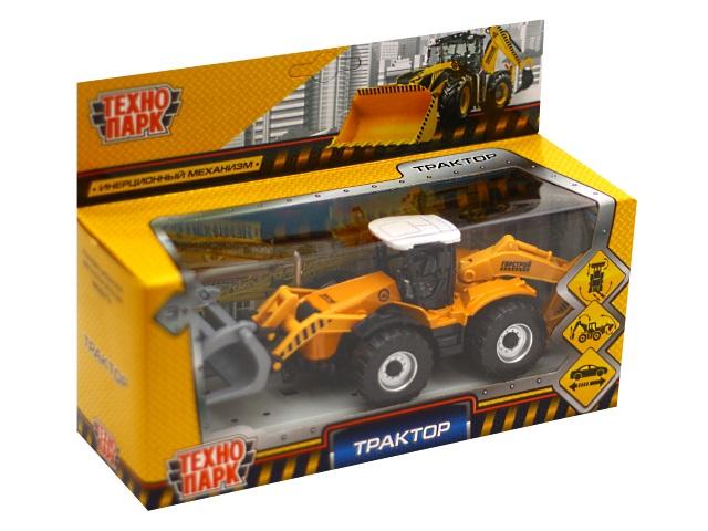 Трактор металл 15см Технопарк 151A2-R