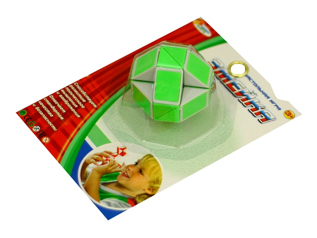 Головоломка Змейка цветная Играем вместе B1383500-R