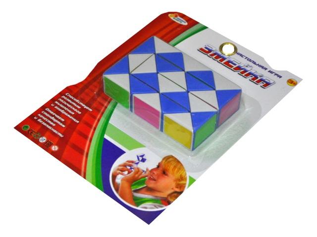 Головоломка Змейка цветная Играем вместе B1383506-R
