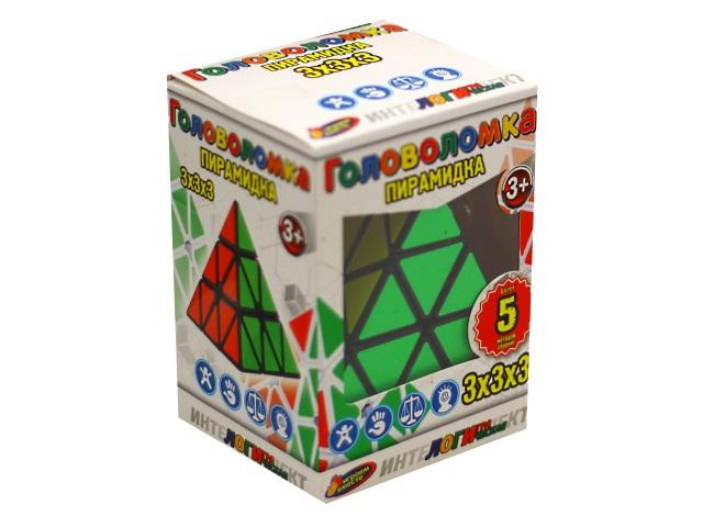 Головоломка Пирамидка 3*3*3 Играем вместе ZY753040-R