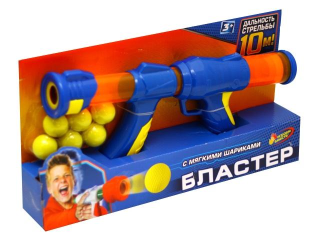 Бластер 36 см с мягкими шариками Играем вместе 1711G278-R