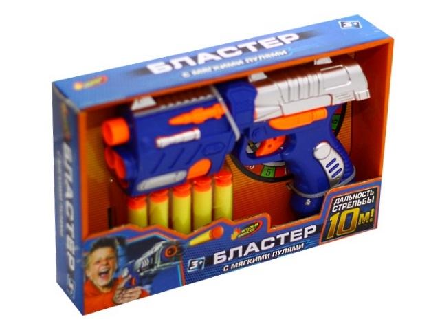 Бластер  5 пуль 16см Играем вместе B1464598-R1