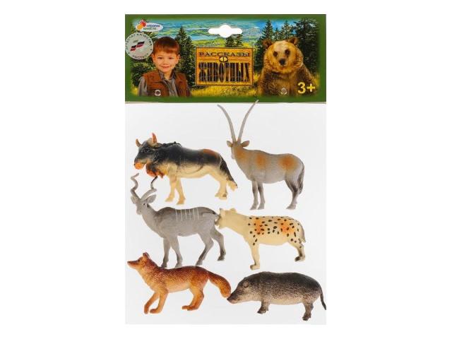 Животные леса 6 шт. 8см Играем вместе PH060406A17