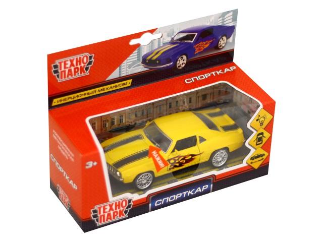 Машина металл Технопарк Спорткар 12см 6078R-MIX