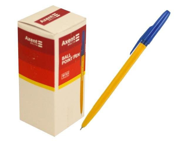 Ручка шариковая Axent Delta синяя 0.5мм DB2000-02\50\400