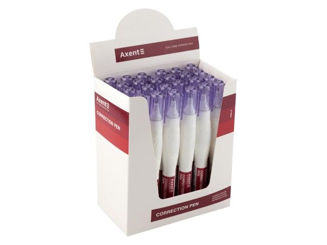 Корректор-ручка Axent 12мл спиртовой 7004-A