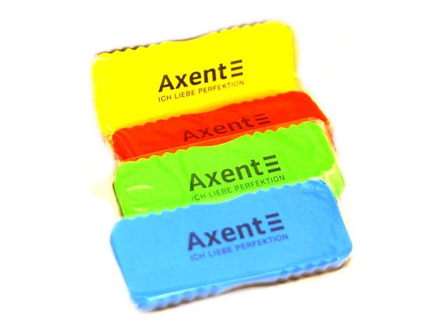 Губка для досок Axent 15*6 см велюр цветная 9803-A