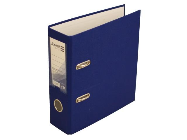 Регистратор  А5/75 Axent синий без окантовки D1718-02P