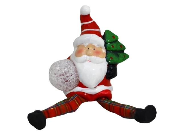 Фигурка с led-подсветкой Чудесный Дедушка Мороз 12см Miland Т-0155