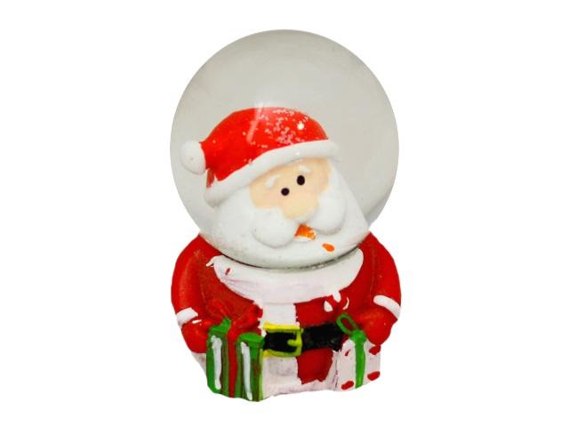 Сувенир Снежный шар Сказочный Санта 7см Miland Т-9873