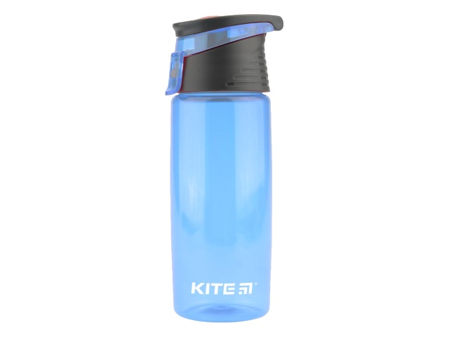 Бутылочка для воды Kite 550мл голубая K18-401-04