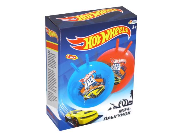 Мяч-прыгун 55 см с рожками Hot Wheels Играем вместе SJ-22(HWS)