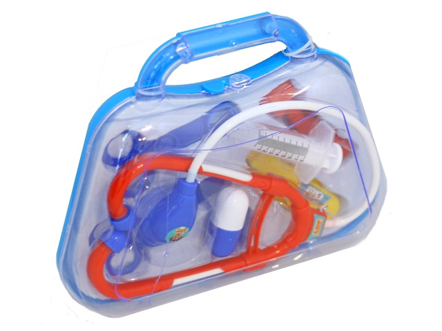 Докторский набор  8 предметов Доктор Пилюлькин в чемодане Играем вместе ZY778496-R