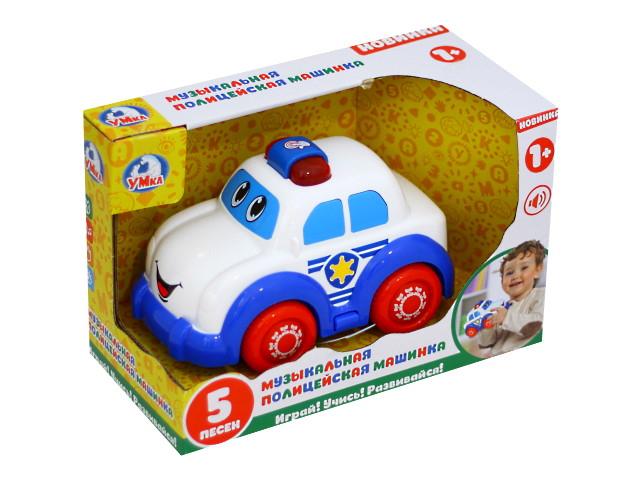 Машинка Полиция музыкальная Умка B976044-R