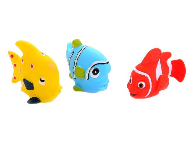 Игрушка для купания 3 шт. Рыбки Играем вместе LXB174_173_175