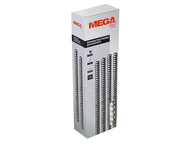 Пружины для брошюровки  8 мм белые 100 шт. ProMega 255076