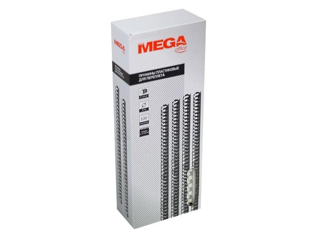 Пружины для брошюровки 10 мм белые 100 шт. ProMega 255081