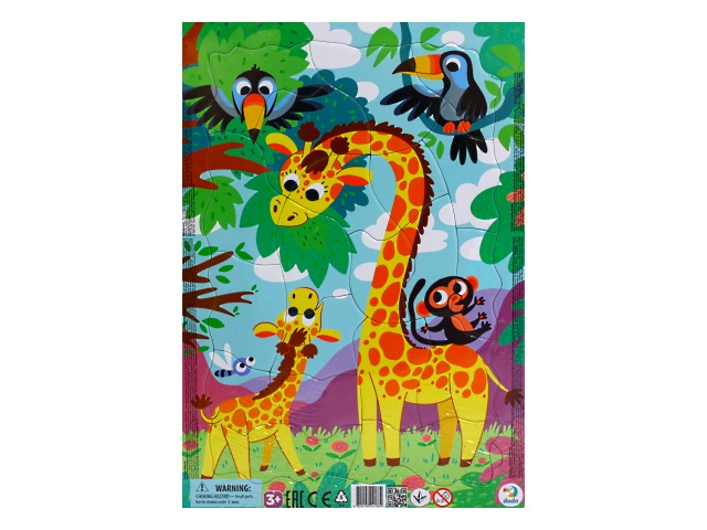 Пазлы Dodo в рамке 21 деталь Жираф R300223