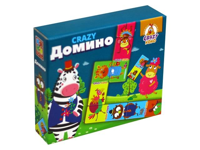 Домино Crazy Koko Vladi Toys VT8055-04