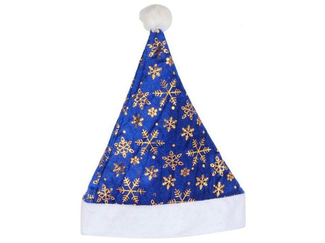 Колпак Новогодний Золотые снежинки Miland ШН-6483