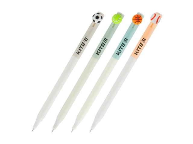 Ручка шариковая автомат Kite Balls синяя 0.7мм K19-028