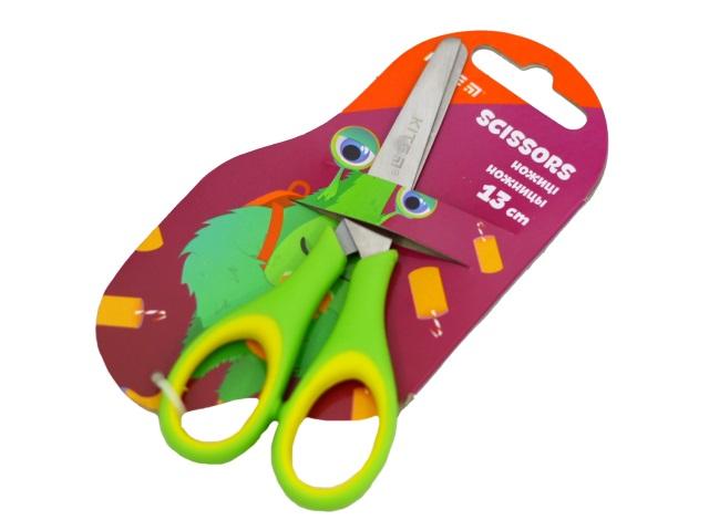 Ножницы детские 13 см Kite Jolliers прорезенные ручки K19-123