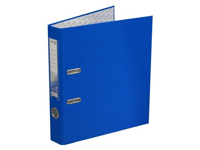 Регистратор  А4/50 Axent голубой с металлической окантовкой D1713-07