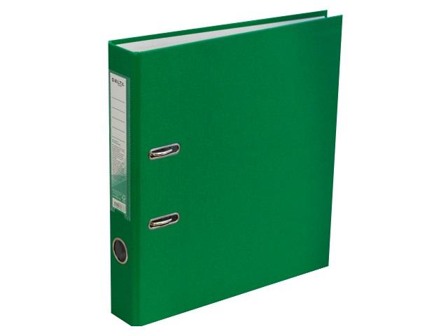 Регистратор  А4/50 Axent зеленый с металлической окантовкой D1713-04