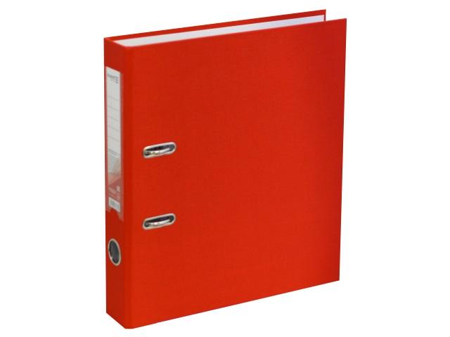 Регистратор  А4/50 Axent красный с металлической окантовкой D1713-06