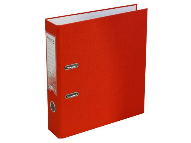 Регистратор  А4/75 Axent красный с металлической окантовкой D1714-06