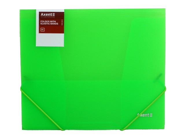 Папка на резинке В5 Axent зеленая 1505-26-A