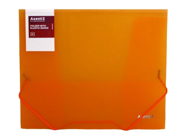 Папка на резинке В5 Axent оранжевая 1505-25-A