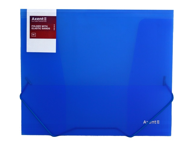 Папка на резинке В5 Axent синяя 1505-22-A